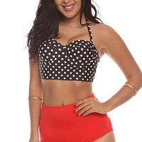 Lyla Dot Swimsuit Large