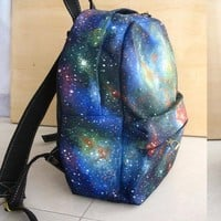 Unique Shiny Sky World Backpack bag