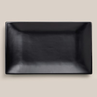 Matte Black Sushi Plates, Set of 2 - World Market