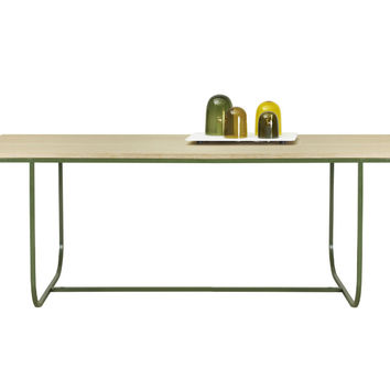 Tati Dining Table with Overhang by Asplund