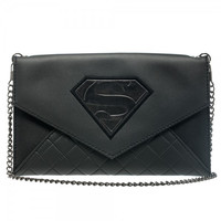 Superman Envelope Wallet with Chain