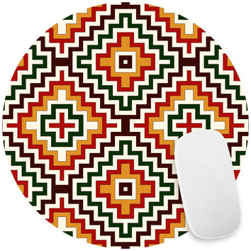 Bohemian Crown Mouse Pad Decal
