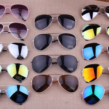 15 Colors Sunglasses for Men and Women