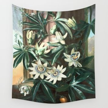 Passion for Passiflora Wall Tapestry by anipani