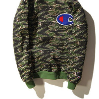 Champion Camouflage Hoodies [9476691591]