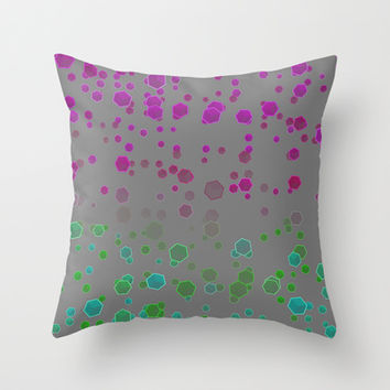 Gravity II Throw Pillow by SensualPatterns