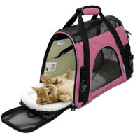 Pink Cat Carrier