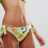 Ted Baker Bikini Bottoms in Chatsworth Bloom at asos.com