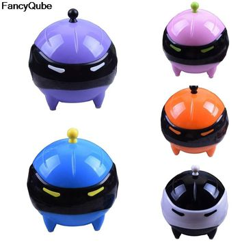 Cute Adorable Ball Mask Contact Lens Washer Automatic Cleaner Cleaning Lenses Case