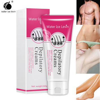 Water Ice Levin® Men&Women Powerful Permanent Depilatory Hair Removal Cream Hair Growth Inhibitor