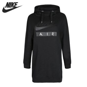 Original New Arrival 2018 NIKE Women's HOODIE DRESS AIR Pullover Hoodies Sportswear