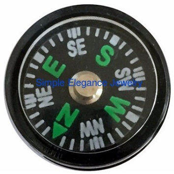 Compass Snap (Working) 20mm for Snap Jewelry (3073)