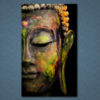 Buddha Limited Edition 1-Piece Wall Art Canvas