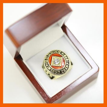 1964 CLEVELAND BROWNS JIM BROWN WORLD CHAMPIONSHIP RING US SIZE 11