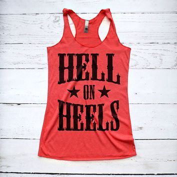 Hell On Heels Country Tank Top