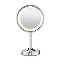 Conair Double-Sided Lighted Round Vanity Mirror
