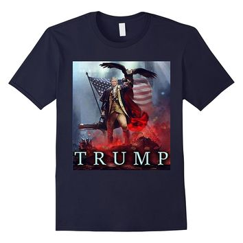 Funny President Trump Patriotic Eagle Party Shirt