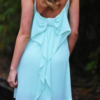 EVERLY: Forever Loving Bows Dress: Mint | Hope's