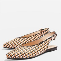 Woven Pointed Shoes | Topshop