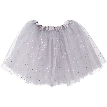 Sparkle Ballerina Toddler Girls Tutu (3-layer)