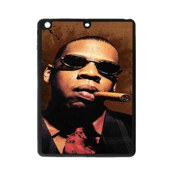 Jay-Z Cigar Glasses Tie Vest 01  iPad Air Case