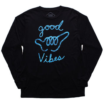 Altru Apparel Good Vibes Shaka long sleeve shirt (Size XL Only)