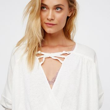 Free People Double Knot Top