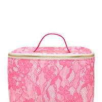 Lace Print Makeup Bag