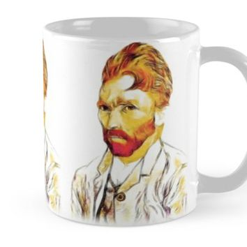 'Van Gogh Co-co Hair-do' Mug by Gravityx9