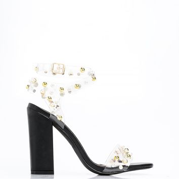 Pearl Of Wisdom Heel - Black