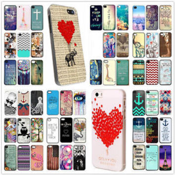 Hot New Pattern Hard Back Case Cover For iPhone 5S 5C SE Iphone 6S 6plus 4s CA4