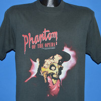80s Phantom of the Opera Movie t-shirt Medium