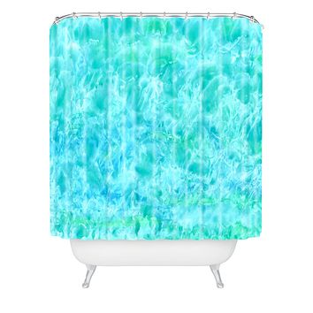 Rosie Brown Sparkling Sea Shower Curtain