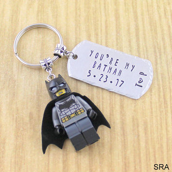 Personalized Batman Keychain | Batman Lego Boyfriend Gift | SRA 2784 5 Star Seller Shop Limited Edition 9234 ZASSR 78808 0874 0183