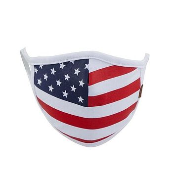 C.C. Fabric Face Mask - American Flag