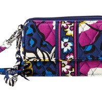 Vera Bradley All In One Crossbody for Iphone 6+ Wristlet, Alpine Floral, One Size