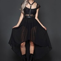 Fall From Grace Hallter Dress