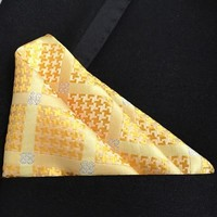 Men's Ties Scarves pocket square kerchief pocket square with polyester