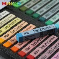 12 24 36 48 Colors Soft Pastels non toxic Drawing Set Art Set Soft Crayon Hair Chalk Hair Colors Crayons Art School Supplies