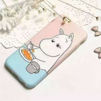 Tired Moomin Phone Case from hhotaru