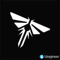 THE LAST OF US FIREFLY ANIME DECAL STICKER