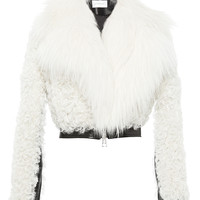 Shearling and Leather Jacket | Moda Operandi