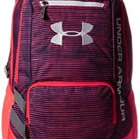 Under Armour Hustle Backpack, Russian Nights, One Size