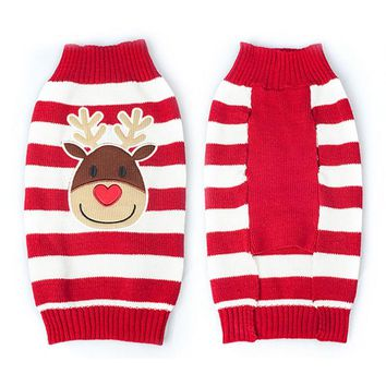 Reindeer Pet Sweater