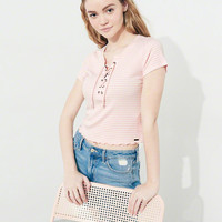 Girls Must-Have Crop Sim T-Shirt | Girls 40-60% Off Throughout | HollisterCo.com