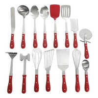 The Pioneer Woman Frontier Collection 15-Piece All In One Kitchen Utensil Set, Multiple Colors - Walmart.com