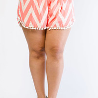 Shop Plus Size Faux Leather, Floral & Denim Shorts − G-Stage