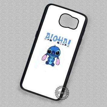 Said Aloha Lilo and Stitch - Samsung Galaxy S7 S6 S5 Note 7 Cases & Covers