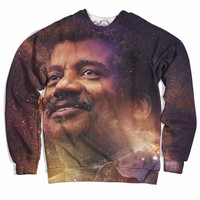Galactic Neil Degrasse Sweater