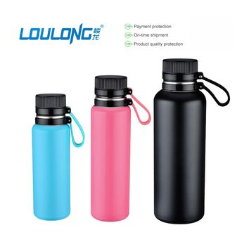 500ML Hot Selling Sports Water Bottle Double Wall Insulated Stainless Steel Vacuum Thermo Bottle For Women Shaker Bottles BT006